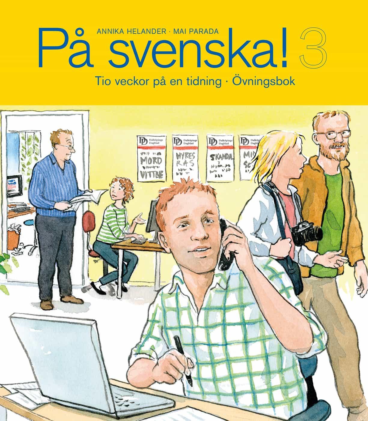 På svenska! 3 övningsbok